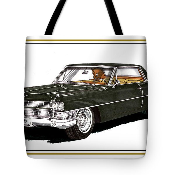 1964 Cadillac Coupe' Deville Painting By Jack Pumphrey