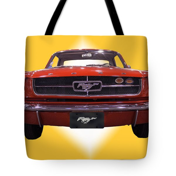 1964 Ford Mustang Tote Bag