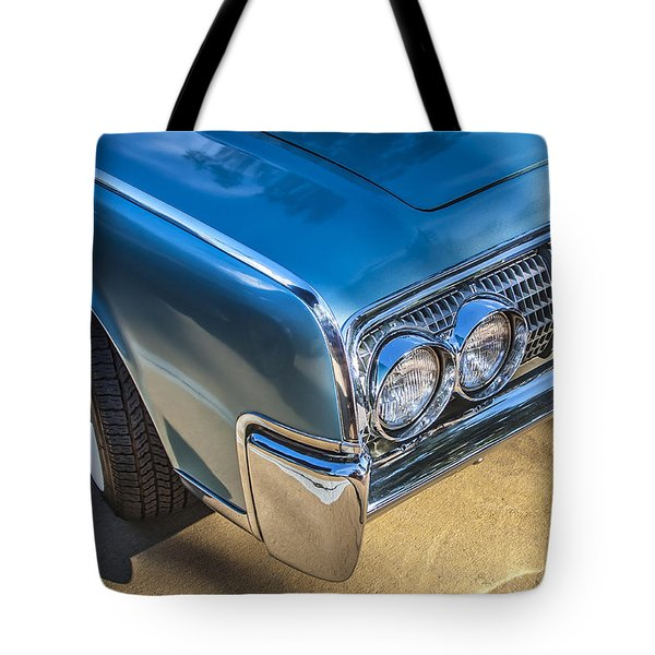 1964 Lincoln Continental Convertible  Tote Bag by Rich Franco