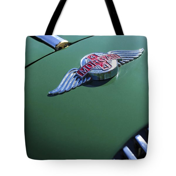 1964 Morgan 44 Hood Ornament Tote Bag by Jill Reger