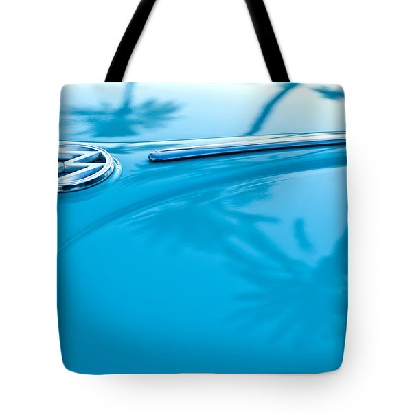 1964 Volkswagen Vw Bug Emblem Tote Bag