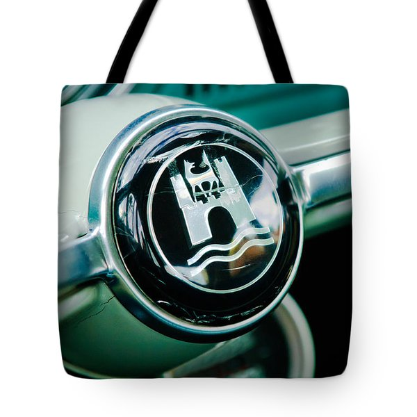 1964 Volkswagen Vw Steering Wheel Tote Bag