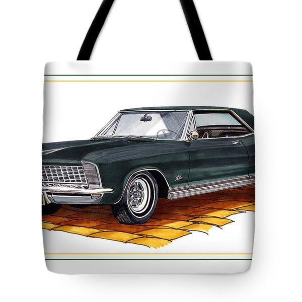 Buick Riviera Custom Tote Bag by Jack Pumphrey