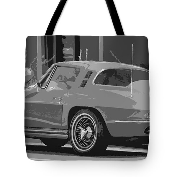 1965 Corvette  Tote Bag by Juls Adams