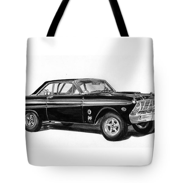 1965 Ford Falcon Street Rod Tote Bag
