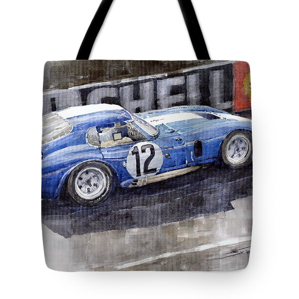 1965 Le Mans  Daytona Cobra Coupe  Tote Bag