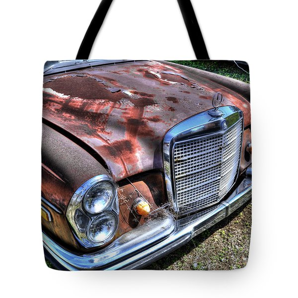 1965 Mercedes-benz Tote Bag