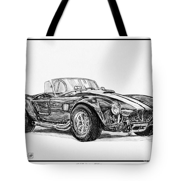 1965 Shelby Ac Cobra Tote Bag