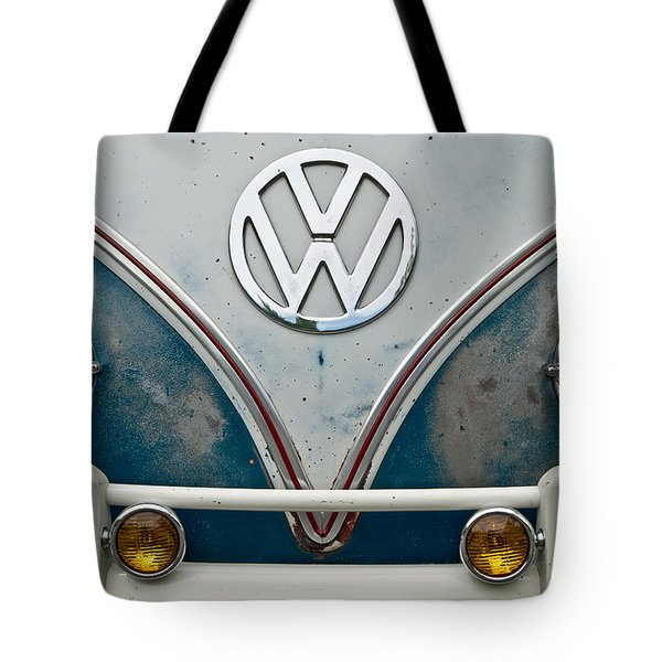 1965 Vw Volkswagen Bus Tote Bag