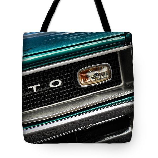 1966 Pontiac Gto Tote Bag by Gordon Dean II