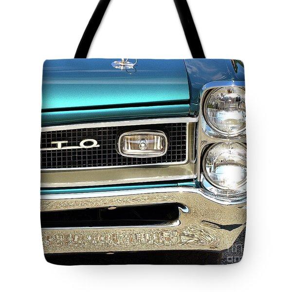 1966 Pontiac Gto Tote Bag