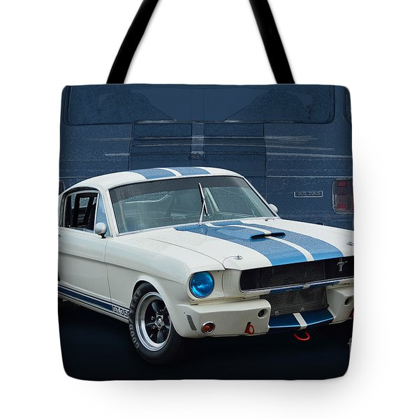 1966 Shelby Gt350 Tote Bag