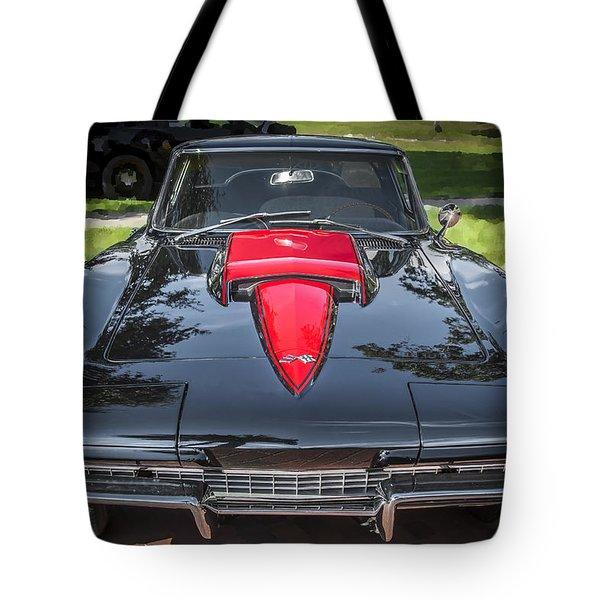 1967 Chevrolet Corvette 427 435 Hp Tote Bag by Rich Franco