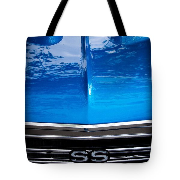 1967 Chevy Chevelle SS Tote Bag by David Patterson