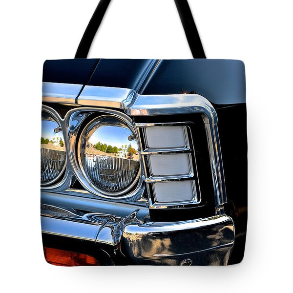 1967 Chevy Impala Front Detail Tote Bag by Bill Owen