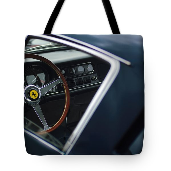 Tote Bag featuring the photograph 1967 Ferrari 275 Gtb-4 Berlinetta by Jill Reger