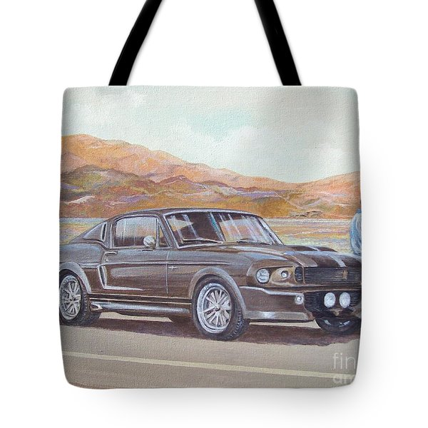 1967 Ford Mustang Fastback Tote Bag