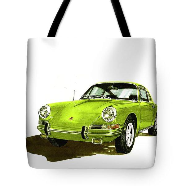 Porsche 911 Sportscar Tote Bag