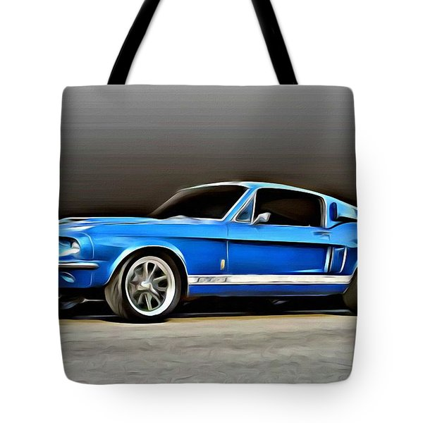 1967 Shelby Mustang Gt500 Tote Bag