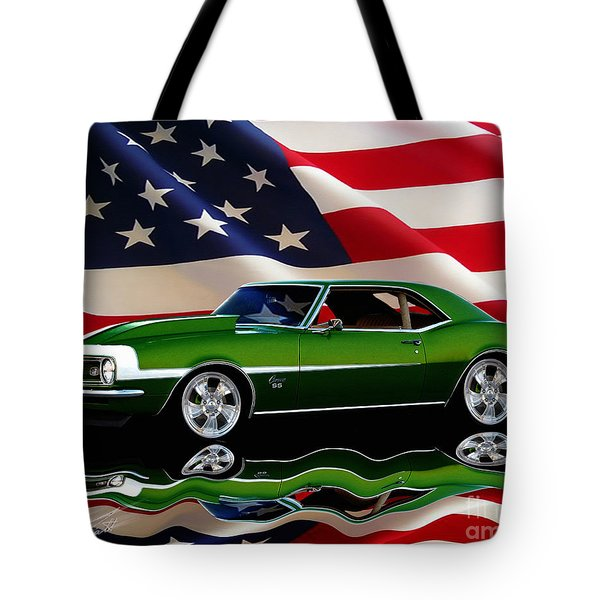 1968 Camaro Tribute Tote Bag