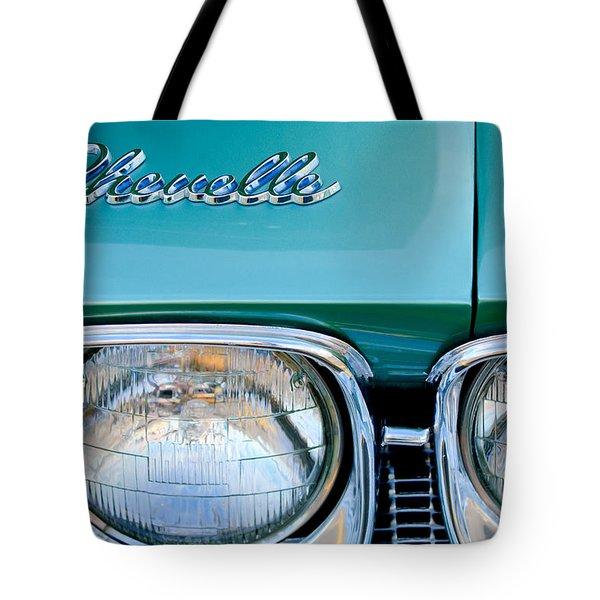 1968 Chevrolet Chevelle Headlight Tote Bag by Jill Reger