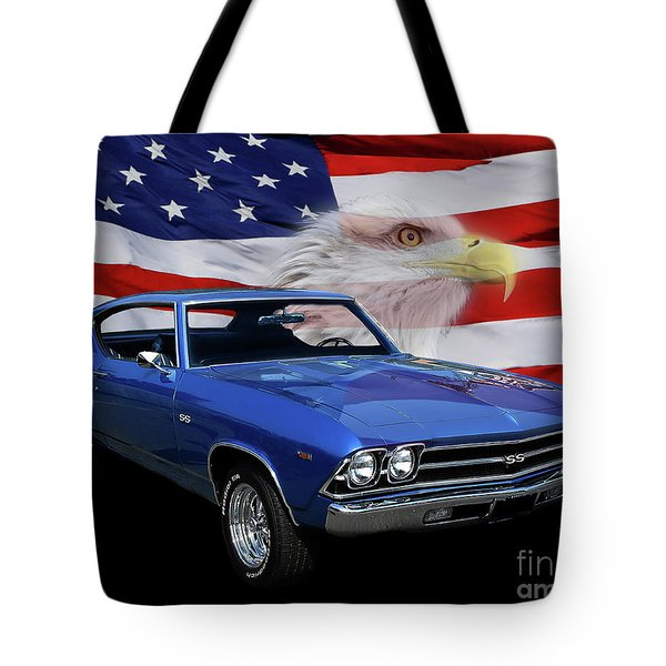 1969 Chevelle Tribute Tote Bag