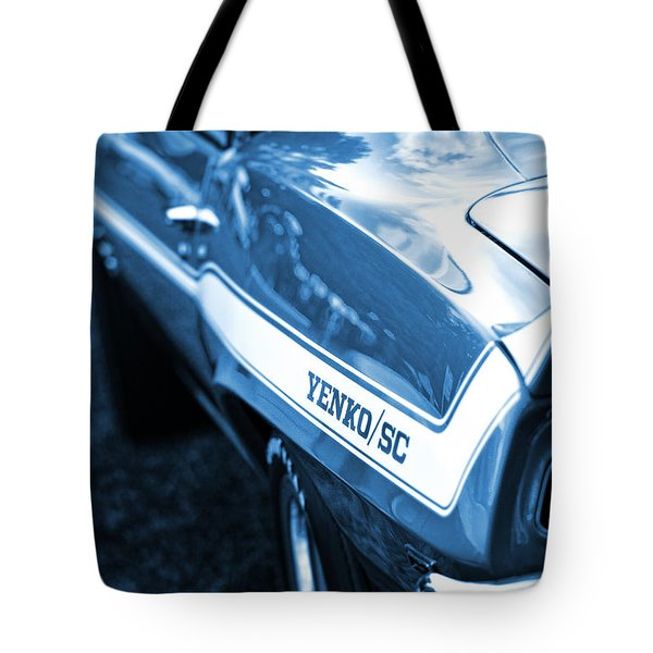 1969 Chevrolet Camaro Yenko Sc 427 Tote Bag by Gordon Dean II