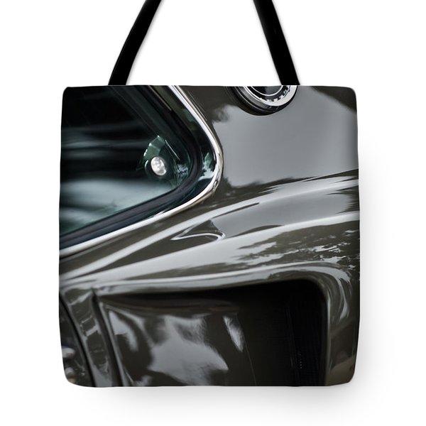 1969 Ford Mustang Mach 1 Emblem 2 Tote Bag by Jill Reger