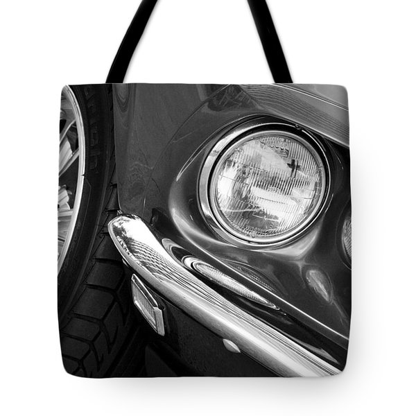1969 Ford Mustang Mach 1 Front End Tote Bag by Jill Reger
