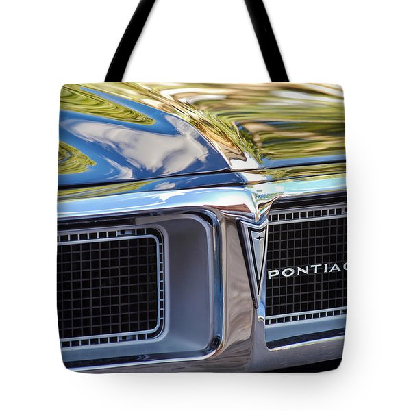 1969 Pontiac Firebird 400 Grille Tote Bag by Jill Reger