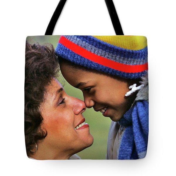 1970s 1980s Smiling African American Tote Bag
