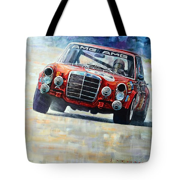 1971 Mercedes-benz Amg 300sel Tote Bag