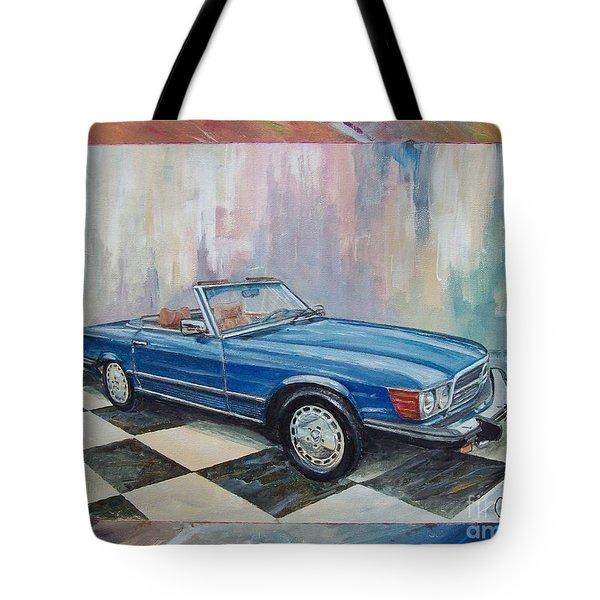 1976 Mercedes-benz 450 Sl Tote Bag