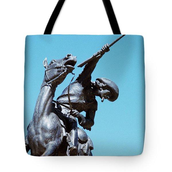 1980s Buffalo Bill Statue Cody Wyoming Tote Bag
