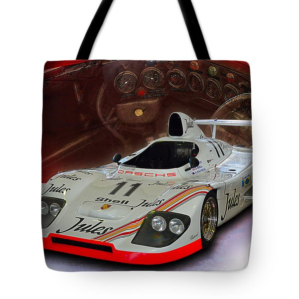 1981 Porsche 936/81 Spyder Tote Bag