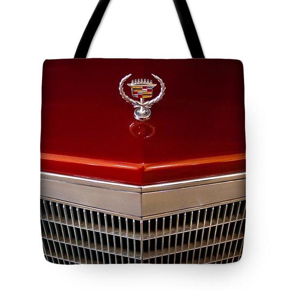 1984 Cadillac Eldorado Biarritz Tote Bag by David Patterson