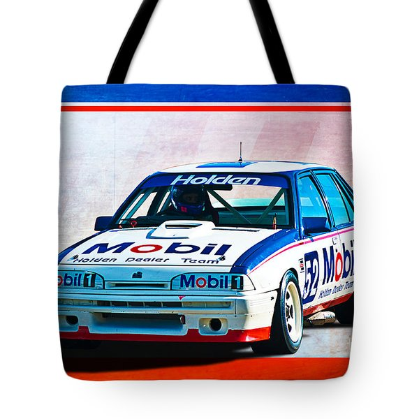 1987 Vl Commodore Group A Tote Bag by Stuart Row