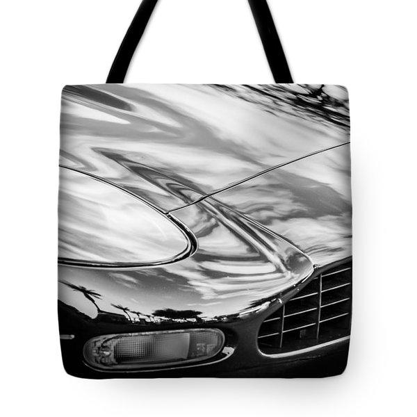 1997 Aston Martin -0430bw Tote Bag