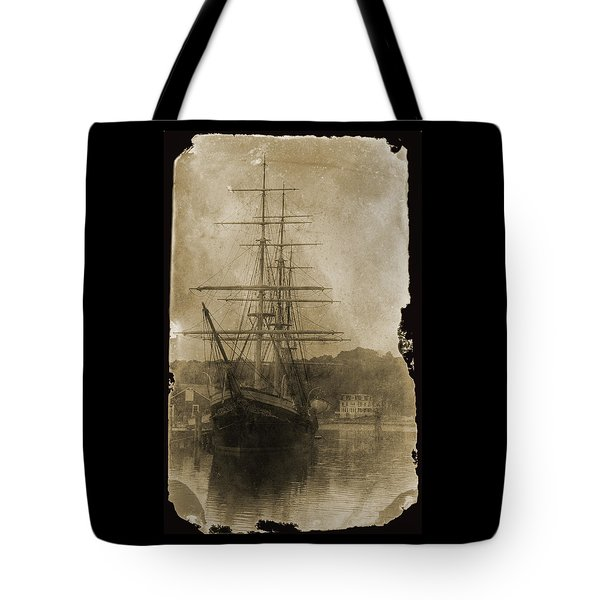 19th Century Schooner Tote Bag