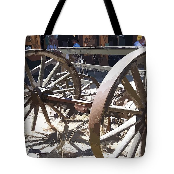 1gold Mine Northern California Tote Bag by Garland Oldham