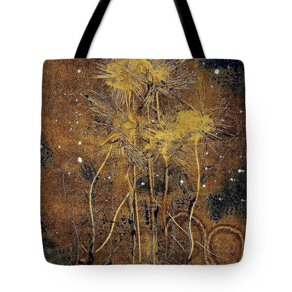 Tote Bag featuring the painting 1st Love by Lesley Fletcher
