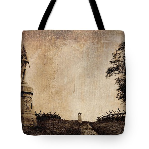 Bloody Lane Aka The Sunken Road Tote Bag