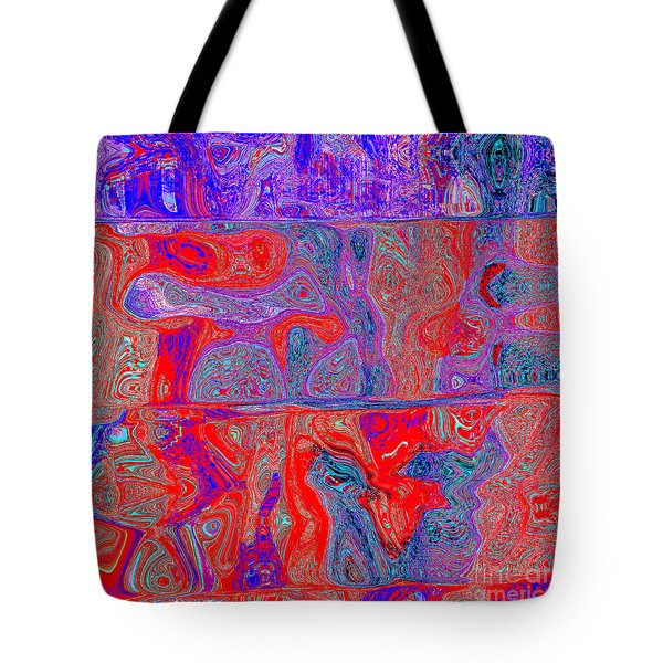 0104 Abstract Thought Tote Bag by Chowdary V Arikatla
