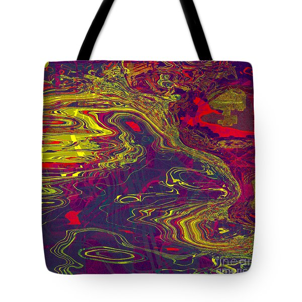 0512 Abstract Thought Tote Bag by Chowdary V Arikatla