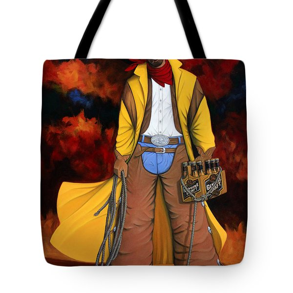 10 Pac Tote Bag by Lance Headlee