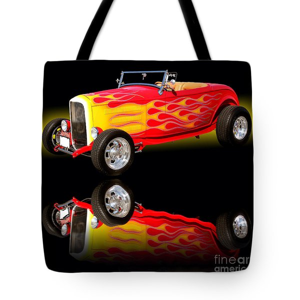 1932 Ford V8 Hotrod Tote Bag
