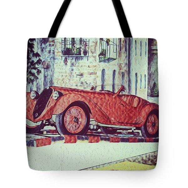 1937 Alfa Romeo 8c 2900a Tote Bag