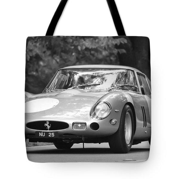 Tote Bag featuring the photograph 1963 Ferrari 250 Gto Scaglietti Berlinetta by Jill Reger