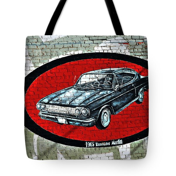 1965 Rambler Marlin Tote Bag by Linda Cox
