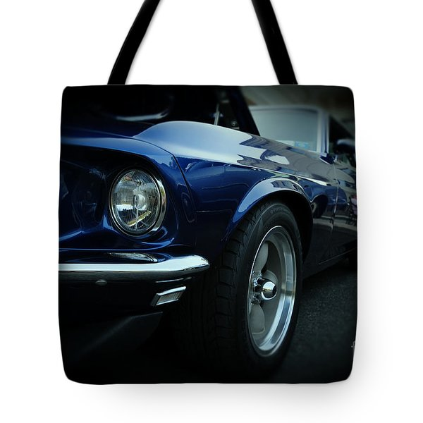 1969 Ford Mustang Mach 1 Fastback Tote Bag by Paul Ward